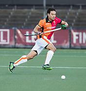 AMSTELVEEN - Thomas Briels (Oranje-Rood) tijdens   de hoofdklasse hockeywedstrijd AMSTERDAM-ORANJE ROOD (4-5).  COPYRIGHT KOEN SUYK