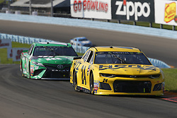 August 5, 2018 - Watkins Glen, New York, United States of America - William Byron (24) brings his car through the turns during the Go Bowling at The Glen at Watkins Glen International in Watkins Glen , New York. (Credit Image: © Chris Owens Asp Inc/ASP via ZUMA Wire)