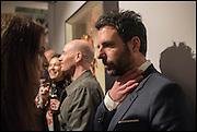 ANTONY MICALLEF, Antony Micallef private at Lazarides Rathbone, 11 RATHBONE PLACE, London. 12 February 2015