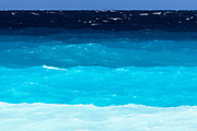 Sea with wich spectre of blue tones