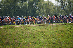The peloton roll through the Dutch countryside at Boels Ladies Tour 2018 - Stage 2, a 137.9km road race in Nijmegen, Netherlands on August 29, 2018. Photo by Sean Robinson/velofocus.com