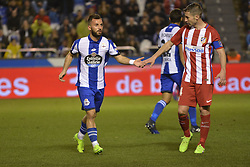 March 2, 2017 - La Coruna, Spain - olak. La Liga Santander Matchday 25. Riazor Stadium, La Coruna, Spain. March 02, 2017. (Credit Image: © Monica Arcay Carro/VW Pics via ZUMA Wire/ZUMAPRESS.com)