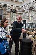 MARTIN PARR, Opening of Photo London, 2018. Somerset House. London. 16 May 2018