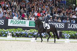 Maljaars Benjamin, (NED), Glamourdale<br /> World Championship Young Dressage Horses <br /> Ermelo 2016<br /> © Hippo Foto - Leanjo De Koster<br /> 30/07/16