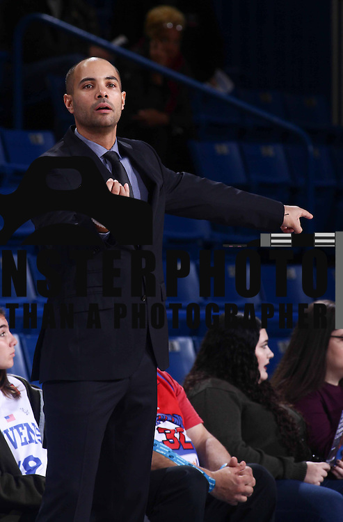 Canton Charge Head Coach JORDI FERNANDEZ directs his team in the first half of a NBA D-league regular season basketball game between the Delaware 87ers (76ers) and the Canton Charge (Cleveland Cavaliers) TuesdayNov 172015 at The Bob Carpenter Sports Convocation Center in Newark, DEL