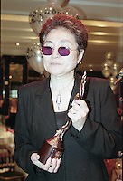 Yoko Ono, The Silver Clef Awards 1997, The Intercontinental, London<br /> (Photo/John Marshall JME)