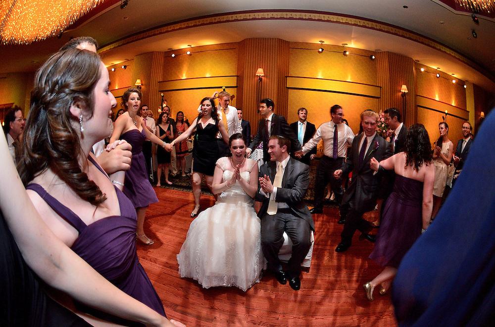 A beautiful Long Island Wedding at East Meadow Jewish Center.