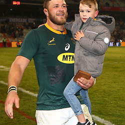 Duane Vermeulen of South Africa during the 2018 Castle Lager Incoming Series 2nd Test match between South Africa and England at the Toyota Stadium.Bloemfontein,South Africa. 16,06,2018 Photo by (Steve Haag JMP)