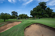 Left side bunkers on the 3rd at The Wanderers Golf Club, Gauteng, Johannesburg, South Africa.  12/01/2016. Picture: Golffile | David Lloyd<br /> <br /> All photos usage must carry mandatory copyright credit (© Golffile | David Lloyd)