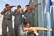 Training of Afghan police officers