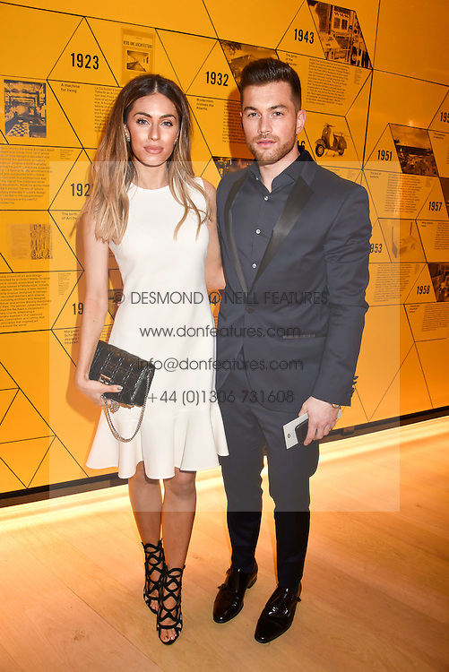 Ali Gordon and Lydia Elise Millen at the Range Rover Velar Global Reveal at The Design Museum, London England. 1 March 2017.