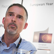04 June 2015 - Belgium - Brussels - European Development Days - EDD - Financing - Creating a fairer and more sustainable international tax system - What is the EU's role? - Seamus Jeffreson , Incoming Director , The European NGO Confederation for Relief and Development © European Union