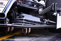 February 26, 2019 - Barcelona, Catalonia, Spain - Alfa Romeo front wing during the Formula 1 2019 Pre-Season Tests at Circuit de Barcelona - Catalunya in Montmelo, Spain on February 26. (Credit Image: © Xavier Bonilla/NurPhoto via ZUMA Press)