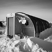 Electrical Shop, Backyard, South Pole Station