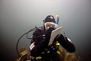 Diving in the Outer Hebrides.