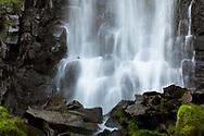 Waterfall of Vaucoux, Puy-de-Dôme, Auvergne-Rhône-Alpes, France