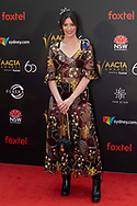 Lily Sullivan at The 2018 Australian Academy of Cinema and Television Arts (AACTA) Awards at The Star in Sydney, Australia