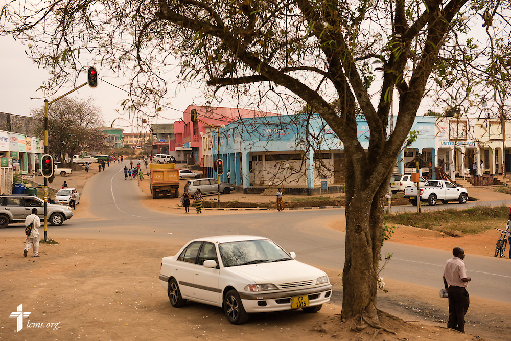 Passerby in Mzuzu on Saturday, Sept. 26, in Malawi. LCMS Communications/Erik M. Lunsford
