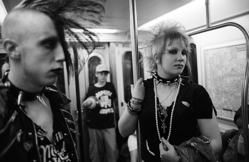 Subway, New York.  2005.