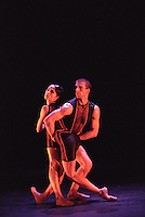 "Oxana Panchenko and William Trevitt in Christopher Wheeldon's ""Mesmerics"". George Piper Dances"