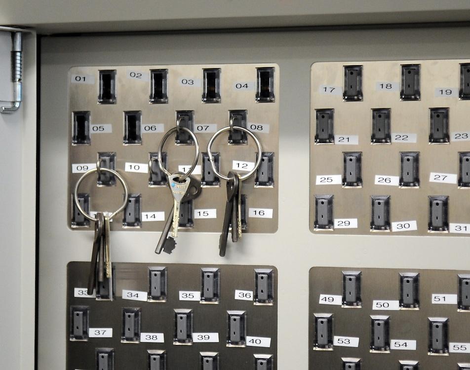 Electronic key system at Rimutaka Prison, Upper Hutt, New Zealand, Thursday, June 03, 2010. Credit:SNPA / Ross Setford