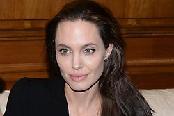 March 16, 2016 - Athens, attica, greece - UNHCR ambassador and famous Hollywood actor Angelina Jolie  (Credit Image: © Wassilios Aswestopoulos/NurPhoto via ZUMA Press)