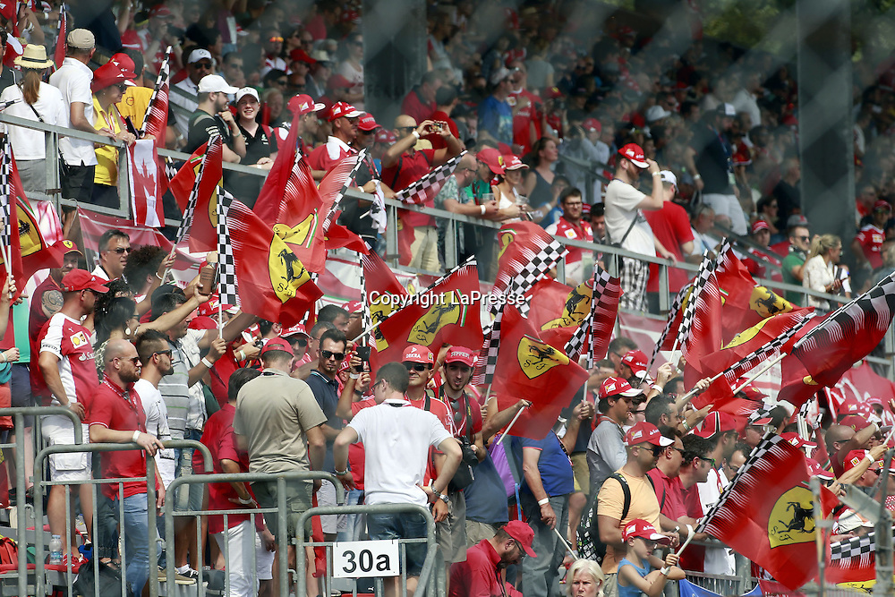 &copy; Photo4 / LaPresse<br /> 04/09/2016 Monza, Italy<br /> Sport <br /> Grand Prix Formula One Italia 2016<br /> In the pic: Fans