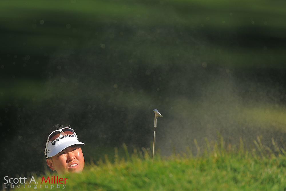 Charlie Wi during the second round of the 112th U.S. Open at The Olympic Club on June 15, 2012 in San Fransisco. ..©2012 Scott A. Miller