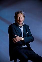 BRUSSELS, BELGIUM - FEB-25-2008 - Francois Schwennicke, Executive Chairman of Delvaux, treasures his father's wrist watch. (REPORTERS © JOCK FISTICK)