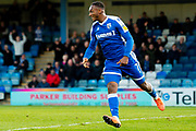 Gillingham FC forward Brandon Hanlan (7) during the EFL Sky Bet League 1 match between Gillingham and Sunderland at the MEMS Priestfield Stadium, Gillingham, England on 7 December 2019.