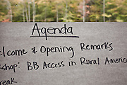 The Rural Broadband Summit and Hearing, held in Whitesburg, KY, on Oct. 11-12, 2011.