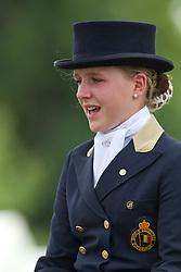 Livens Loranne (BEL) - Vincent<br /> European Championship Dressage Juniors - Broholm 2011<br /> © Hippo Foto - Leanjo de Koster