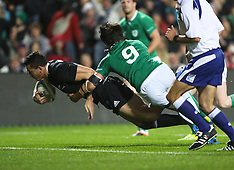 Hamilton-Rugby, New Zealand v Ireland 3rd test