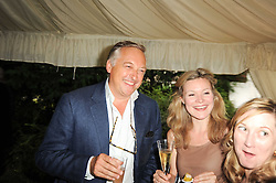 Left, COUNT EDMONDO di ROBILANT at the Apollo Magazine Summer Party held at 22 Old Queen Street, London, SW1 on 29th June 2010.