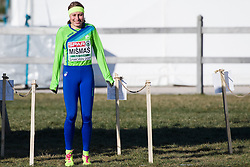 SAMORIN, SLOVAKIA - DECEMBER 10: Marusa Mismas of Slovenia competes during the Women's race of SPAR European Cross Country Championships on December 10, 2017 in Samorin, Slovakia. Photo by Sasa Pahic Szabo /Sportida