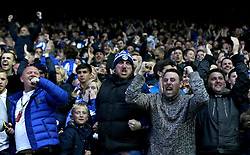 Sheffield Wednesday fans celebrate Fernando Forestieri's goal but see it disallowed - Mandatory by-line: Robbie Stephenson/JMP - 13/05/2016 - FOOTBALL - Hillsborough - Sheffield, England - Sheffield Wednesday v Brighton and Hove Albion - Sky Bet Championship Play-off Semi Final first leg
