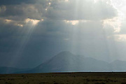 Crepuscular Rays, clouds