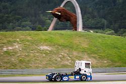 06.07.2013, Red Bull Ring, Spielberg, AUT, Truck Race Trophy, Renntag 1, im Bild Erwin KleinNagelvoort, (NLD, KleinNagelvoort, #15) // during the Truck Race Trophy 2013 at the Red Bull Ring in Spielberg, Austria, 2013/07/06, EXPA Pictures © 2013, PhotoCredit: EXPA/ M.Kuhnke