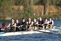 2012.02.25 Reading University Head 2012. The River Thames. Division 2. Southampton University Boat Club B Nov 8+