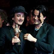 NLD/Amsterdam/20100322 -  Uitreiking Rembrandt Awards 2009, Kane met hun gewonnen Rembrandt