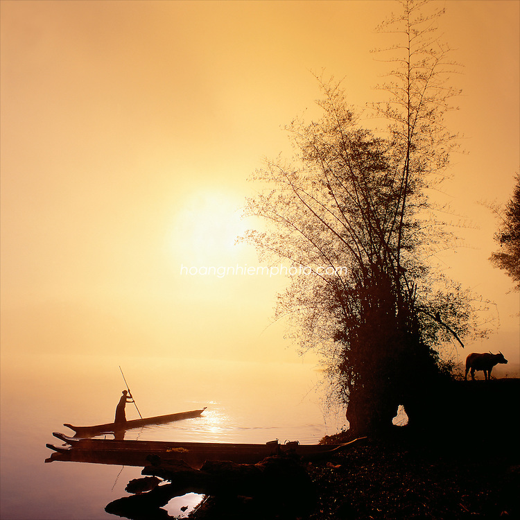 Vietnam Images-landscape-sunrise-Nature-Daklak phong cảnh việt nam