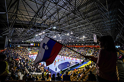 14-04-2019 SLO: Qualification EHF Euro Slovenia - Netherlands, Celje<br /> Arena during handball match between National teams of Slovenia and Netherlands in Qualifications of 2020 Men's EHF EURO