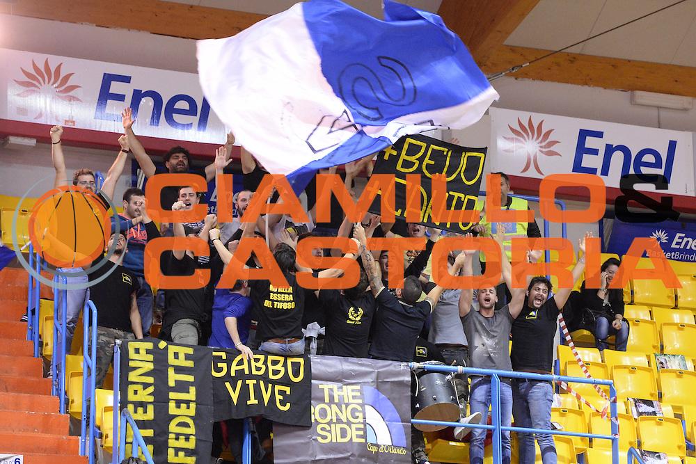 DESCRIZIONE : Brindisi  Lega A 2014-15 Enel Brindisi Upea Capo d'Orlando<br /> GIOCATORE : Tifosi<br /> CATEGORIA : Tifosi<br /> SQUADRA : Upea Capo d'Orlando<br /> EVENTO : Campionato Lega A 2014-2015<br /> GARA :Enel Brindisi Upea Capo d'Orlando<br /> DATA : 21/12/2014<br /> SPORT : Pallacanestro<br /> AUTORE : Agenzia Ciamillo-Castoria/M.Longo<br /> Galleria : Lega Basket A 2014-2015<br /> Fotonotizia : <br /> Predefinita :