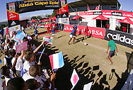 VILLIERSDORP, SOUTH AFRICA - GV during the Adidas Big Tree Foundation Schools Soccer Tournament Final held during stage two of the Absa Cape Epic Mountain Bike Stage Race held between Gordon's Bay and Villiersdorp on the 23 March 2009 in the Western Cape, South Africa..Photo by Ron Gaunt /SPORTZPICS