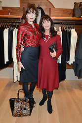 Left to right, JASMINE GUINNESS and her mother LIZ CASEY at a party to celebrate the re-opening of the Jaeger Chelsea Store in association with the NSPCC at 145 Kings Road, London on 24th September 2014.
