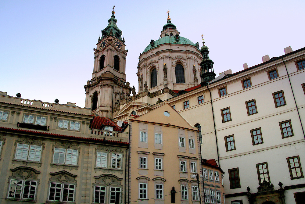 St. Nicholas Cathedral (Chram sv. Mikulase), Prague, Czech Republic
