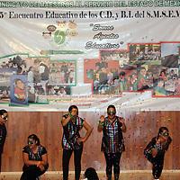 IXTAPAN DE LA SAL, México.- Uno de los compromisos del Sindicato de Maestros al Servicio del Estado de México, es la de capacitar al personal que labora en esta organización y que brinda un servicio al magisterio estatal, por ello se llevó a cabo el Quinto Encuentro Educativo de los Centros de Desarrollo y Bienestar Infantil (C. D. y B. I.). Agencia MVT / Especiales. (DIGITAL)