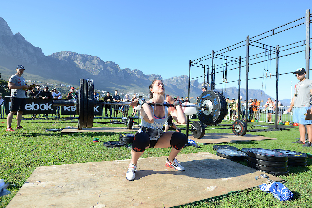 Ladies Event 1, Day 1 during Fittest in Cape Town 2015, Cape Town, South Africa. Photo by @rubywolff
