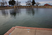 Balmorhea State Park, spring-fed swimming pool, Balmorhea, Toyahvale, Civilian Conservation Corp, Texas.