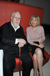 SIR PETER & LADY BLAKE at a private dinner hosted by Lucy Yeomans in honour of Jason Brooks at The Cafe Royal, Regent Street, London on 13th February 2013.